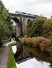 Class 185 crossing Saddleworth viaduct