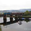 55022 crossing Leven bridge