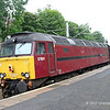 57601 on rear of SRPS Railtour at Exhibition Centre Station