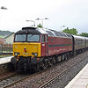 57601 brings up the rear of SRPS Railtour at Priesthill & Darnley