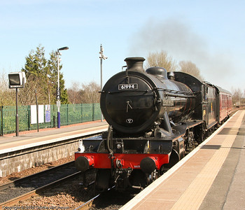 61944 The Great Marquess on LE move to Perth for Great Britain III railtour duties