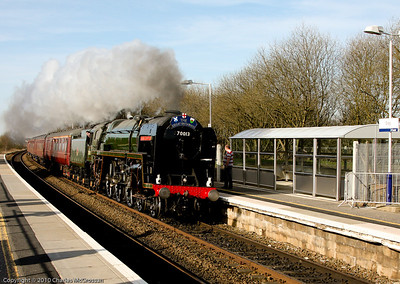 70013 Oliver Cromwell on The Great Britain III railtour