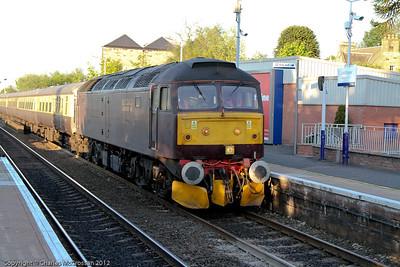 West Coast Railways  47 760