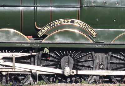 5043  Earl of Mount Edgcumbe nameplate