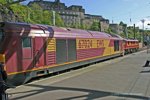 Fife Circle Steam Tour - 61994 Great Marquess - 18th May 2008