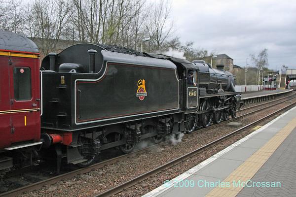 The Great Britain II railtour - April 2009