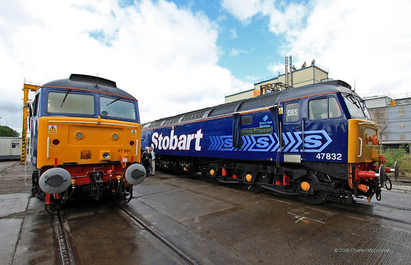 DRS Open Day - Gresty Bridge Depot, Crewe- 19th July 2008