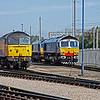 Colas Rail 47 739 and 66 411 Eddie the Engine