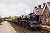 71000, Duke of Gloucester rips through Kirby Stephen returning to Gloucester from Carlisle 21/05/11