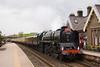 71000, Duke of Gloucester rips through Kirby Stephen returning to Gloucester from Carlisle 21/05/11
