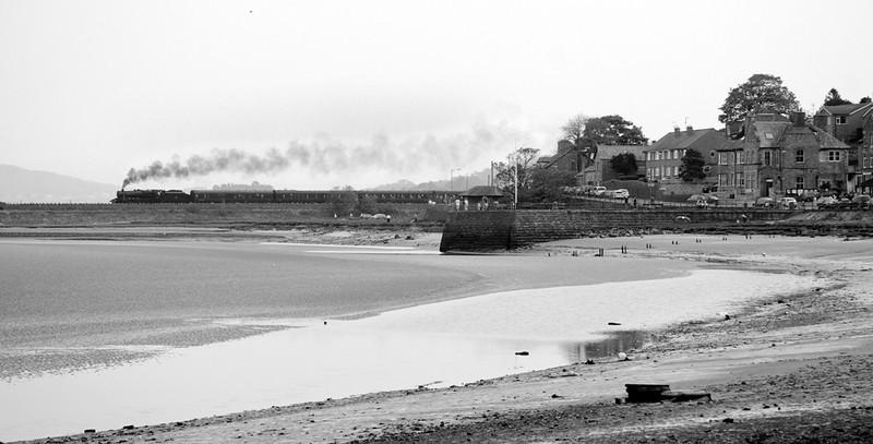 On a dull day, 45151 leaves  Arnside - Cumbrian Coast Fellsman 10/05/08