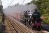45305 approaching Balshaw Lane Jct with Liverpool- Carlisle Cumbrian Mountain Express. 23/7/11