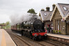 A few minutes after 71000, 46115 and support coach head through Kirkby Stephen on the way back to Carnforth 21/05/11
