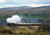 6201 Princess Elizabeth attacking Shap at Greenholme with the first day of the Royal Scot tour to Glasgow.  12/11/11
