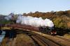 45407 44871 on Lancaster Buxton excursion at Ladybridge, Bolton 07/11/10