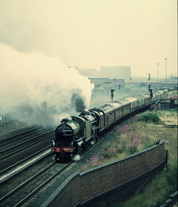 K1 2005 Black 5 5305  passing Armley Junction with Leeds Newcastle Excursion 26/7/86