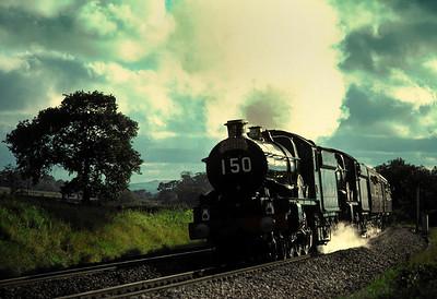 5051 Drysllwyn Castle 7029 Clun Castle at Burlescombe 8/9/85