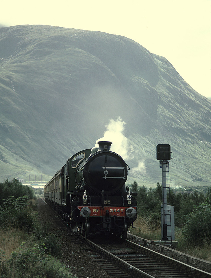 K1 2005 running as as 3445 at Banavie	30/8/87