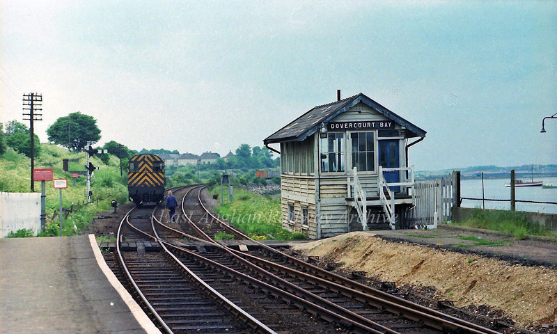 Dovercourt Bay.  6th June 1978
