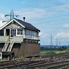 Manningtree South Junction Signal Box.  27th June 1979