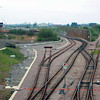 View from Norwood Road bridge on 15th April 2005 with the line to Wisbech straight ahead. The picture makes a stark comparison with the previous two.Photo with kind permission of Peter Heath.