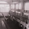 Twenty Feet River signal box interior, after closure. Image with kind permission of Norman Pannell