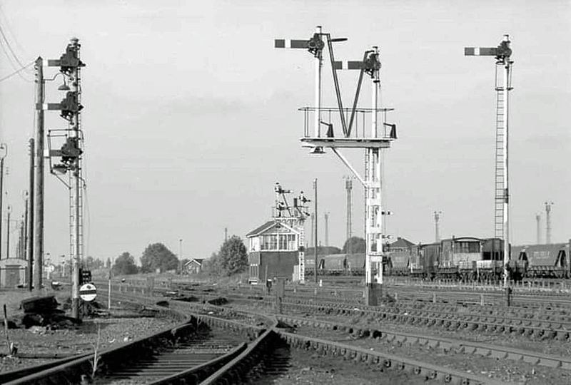 Grassmore Junction, now the site of Whitemoor Prison. <br /> Image with kind permission of Mark Brammer.
