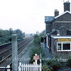 View from Postland Signal Box towards Spalding. September 1982