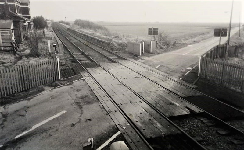 French Drove, view from the signal box after closure. Image with kind permission of Norman Pannell
