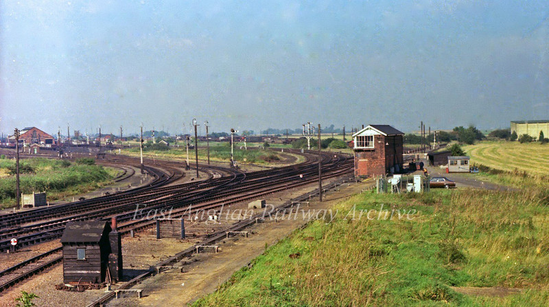 "March Whitemoor Junction 1978. Video of Whitemoor Yard in 1963   <a href=""http://youtu.be/7bCdA-gQ2mU"">http://youtu.be/7bCdA-gQ2mU</a>"
