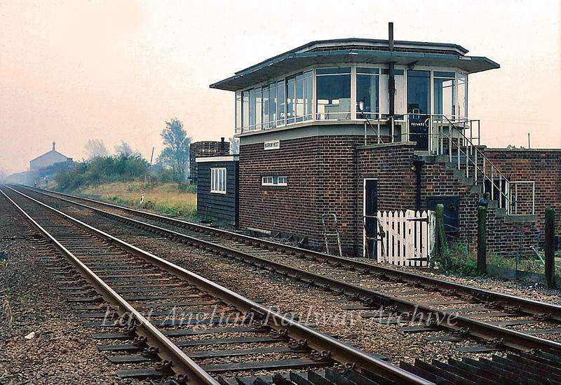 Murrow West Signal Box. September 1982