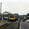 Gloucester RCW unit runs into Chappel and Wakes Colne on 8th March 1978 with the 1134 Sudbury to Colchester.