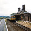 Chappel and Wakes Colne on 30th July 1973 with a class 101 forming the 1300 from Colchester.