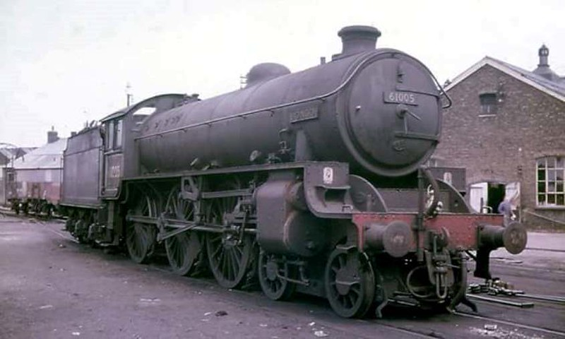 A very familiar engine around Cambridge in the early sixties was Thompson B1 61005 Bongo.