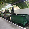 Loco built in 1845 for the Stockton and Darlington railway by A Kitchin, founder of Wessoe