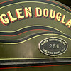 NB railway 256 Glen Douglas - Nameplate