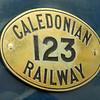 CR 123 numberplate