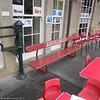 Cafe on former platform