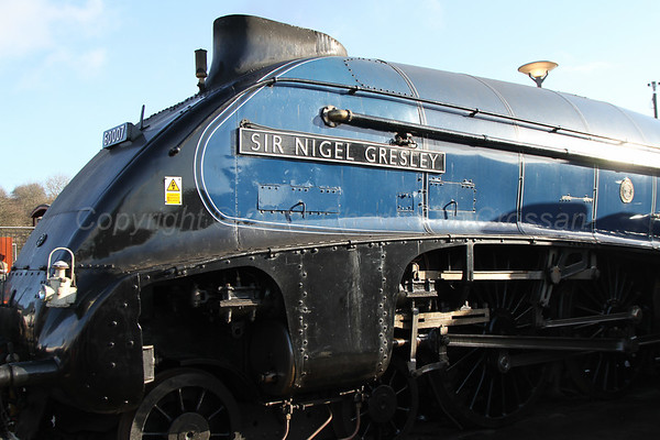 A4s at Shildon - The Great Goodbye - 22nd April 2014