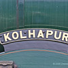 LMS Jubilee class No 45593  Kolhapur Nameplate