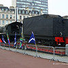 15F class Locomotive 3007 in George Square after arrival from South Africa