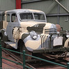 Motor Inspection Car - MIC 4.  1941 Chevrolet purchased by Australian Army.  Converted in February 1943 to operate on standard gauge of Commonwealth Railways.  Purchased by Commonwealth Railways  in October 1943 and used to the 1970s.  Arrived at Museum in March 1980