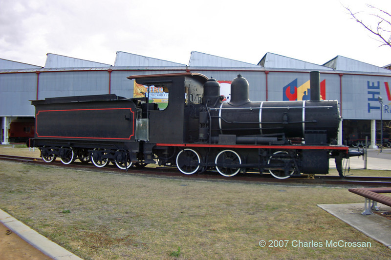 "Queensland Railway Class B13½ 0-6-0 Number 398<br /> <br /> ""Pompey"""