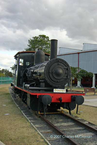 "Queensland Railway Class B13½ 0-6-0 Number 398<br /> <br /> ""Pompey"""