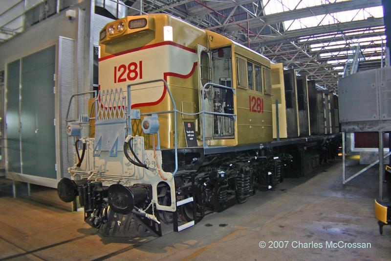 1270 class loco No 1281