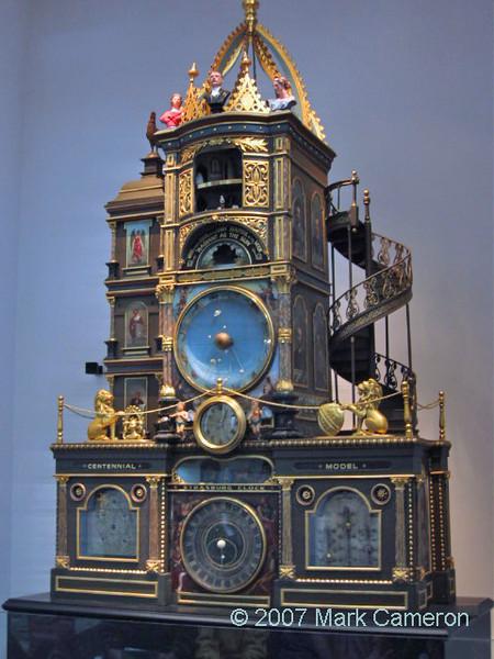 Strasburg Clock model