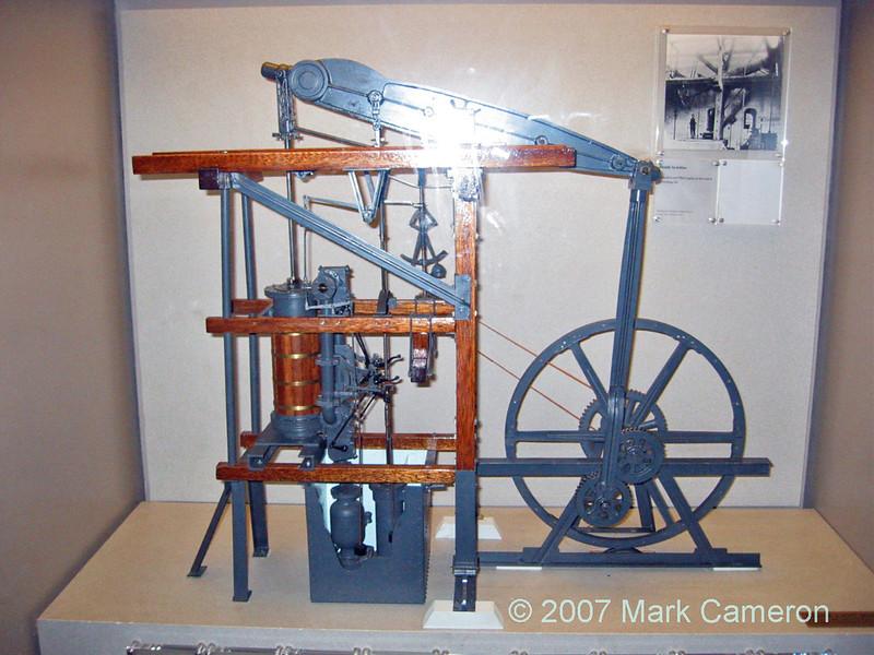 Model beam engine