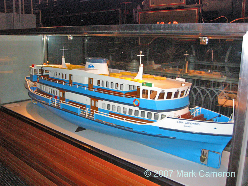 Ship Model - Lady Woodward