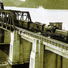 Museum photo display - with Garrett crossing bridge