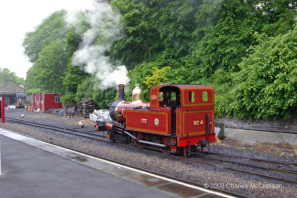 Isle of Man Steam Railway 1st June 2008